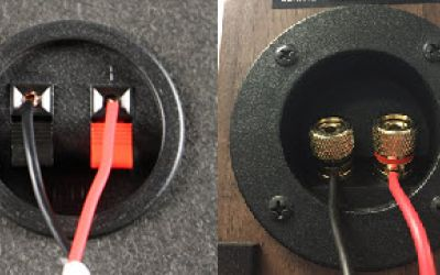 how to turn speaker wire into aux