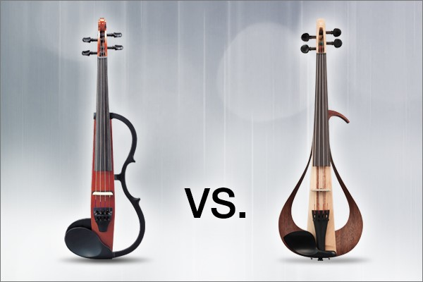 What s the difference between a silent violin and an for Yamaha electric violin