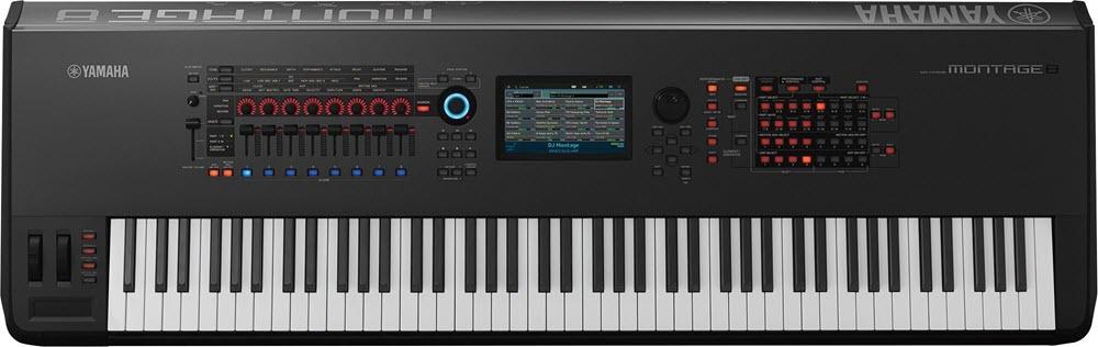 Yamaha MONTAGE8 electronic keyboard.