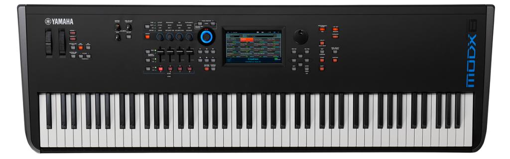 Yamaha MODX electronic keyboard.