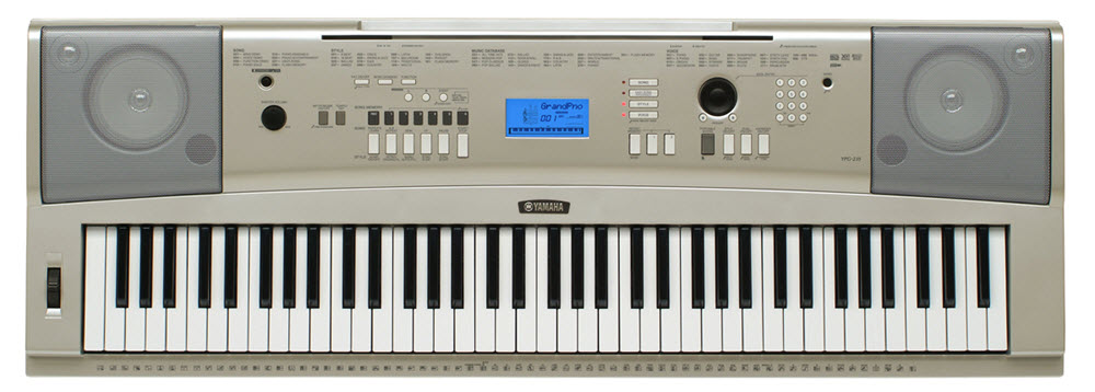 image of electronic keyboard
