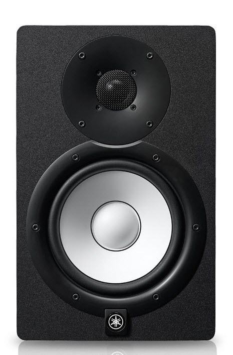 Front face of a rectangular speaker.