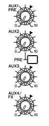 Graphic illustrating dial settings.