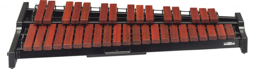 Tabletop xylophone.