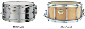 Two snare drums.