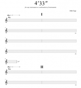 Musical annotation.