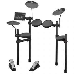Electronic drum set.