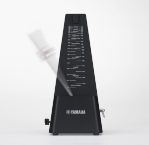 Metronome with arm swinging.