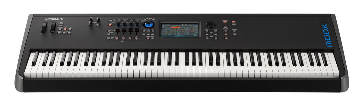 MODX synthesizer keyboard.