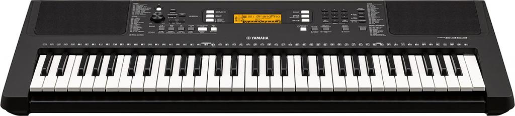 Medium size electronic keyboard.
