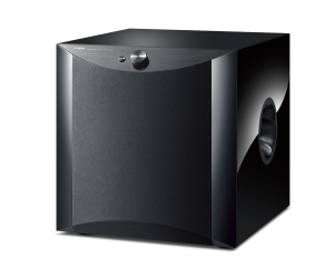 Small square subwoofer.