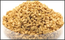 Pile of small cylindrical pellets.
