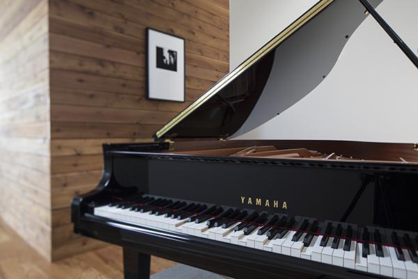 An image of a Yamaha Disklavier piano.