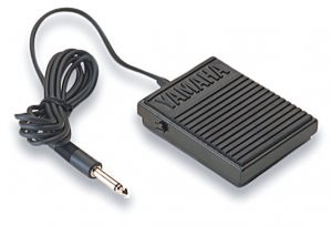 Small rectangular electronic with cable attached.