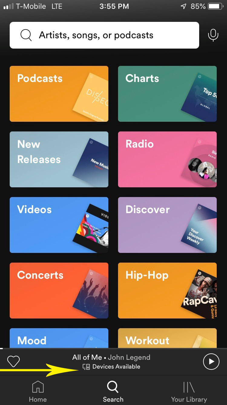 Perfect Together: MusicCast and Spotify Connect