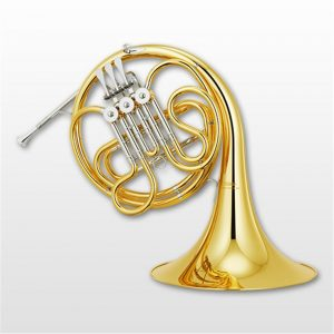 A french horn.