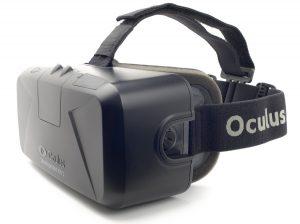 Oculus 3-D headset.