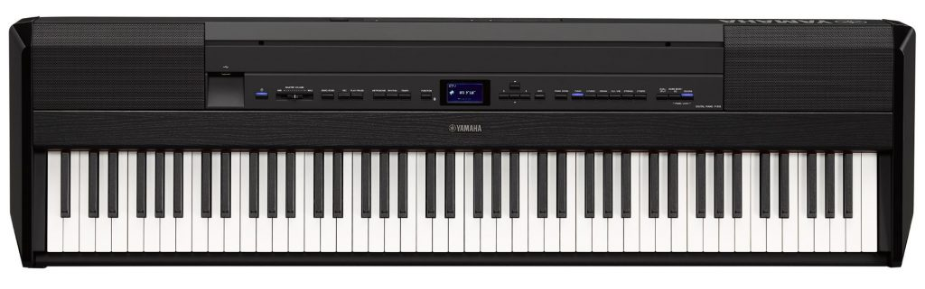 A Yamaha P-515 compact digital piano.