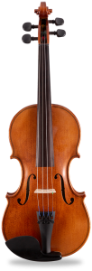 Precision-cut student violin with spruce top.