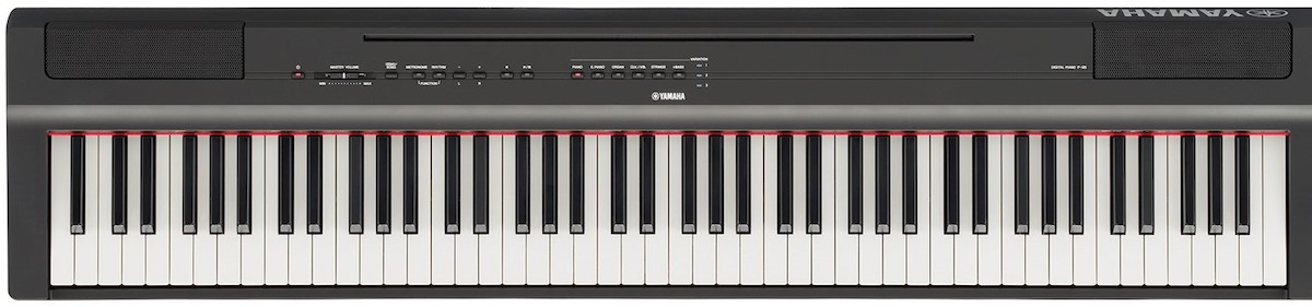 Compact digital piano.