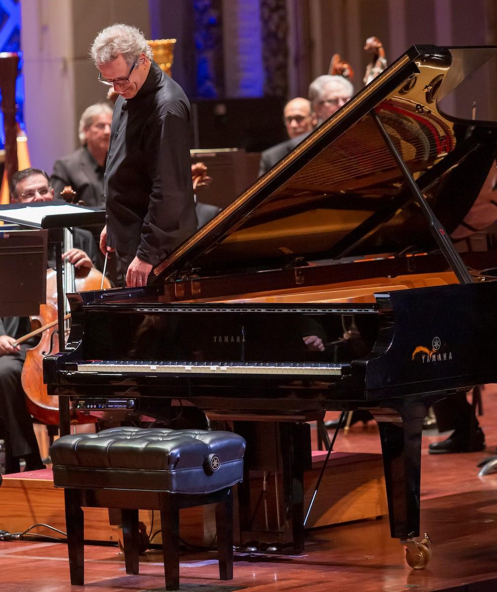 George Gershwin plays Rhapsody in Blue with the Cincinnati Orchestra, via The Disklavier ENSPIRE