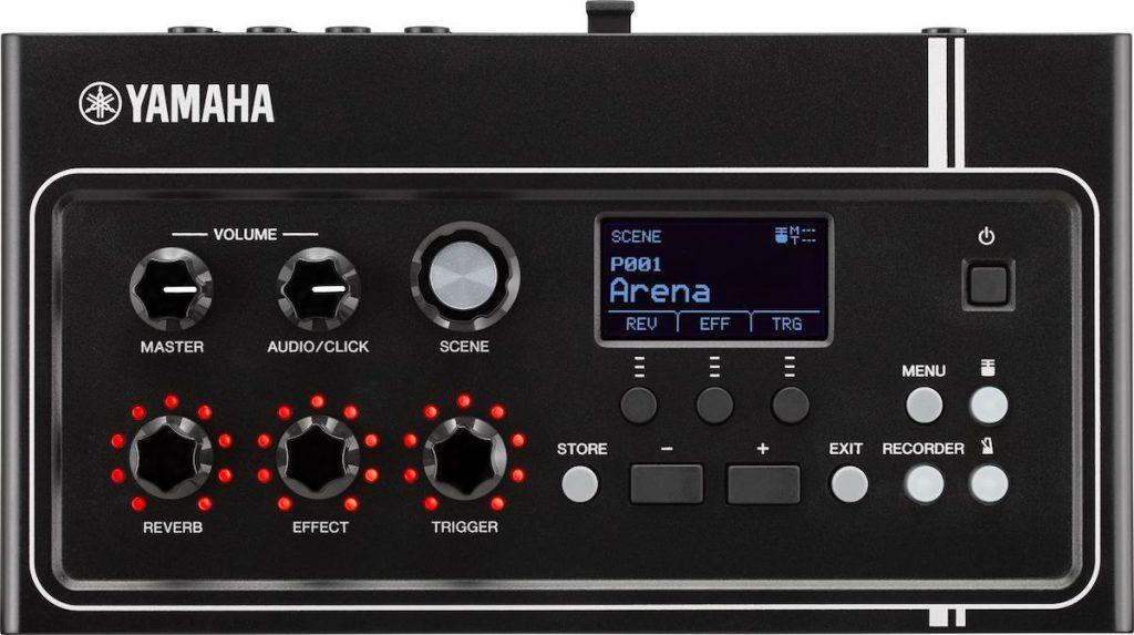 Rectangular acoustic electronic drum module.
