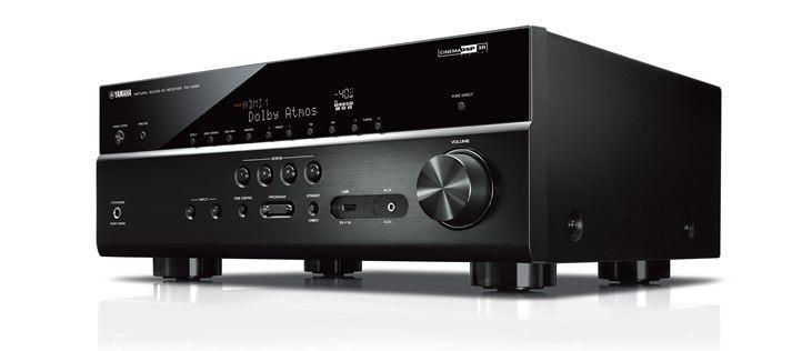 Yamaha RX-V685 AV receiver.
