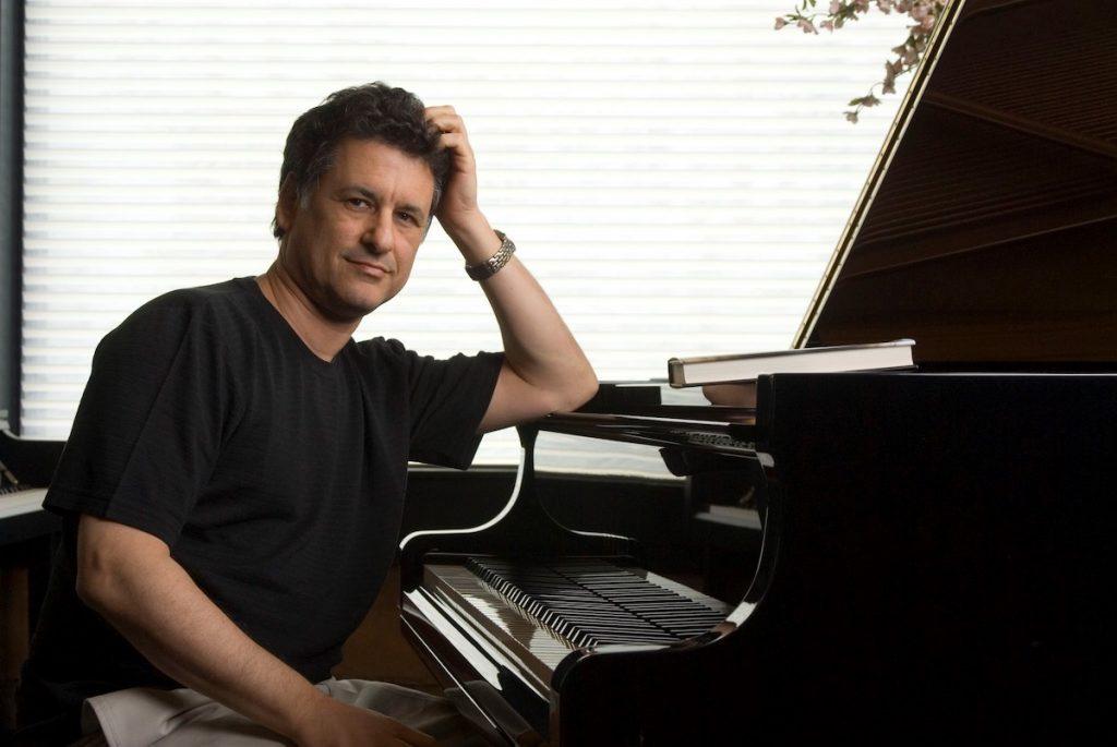 Dan Levitin with Yamaha piano.
