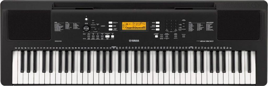 Yamaha PSR-EW300 keyboard.