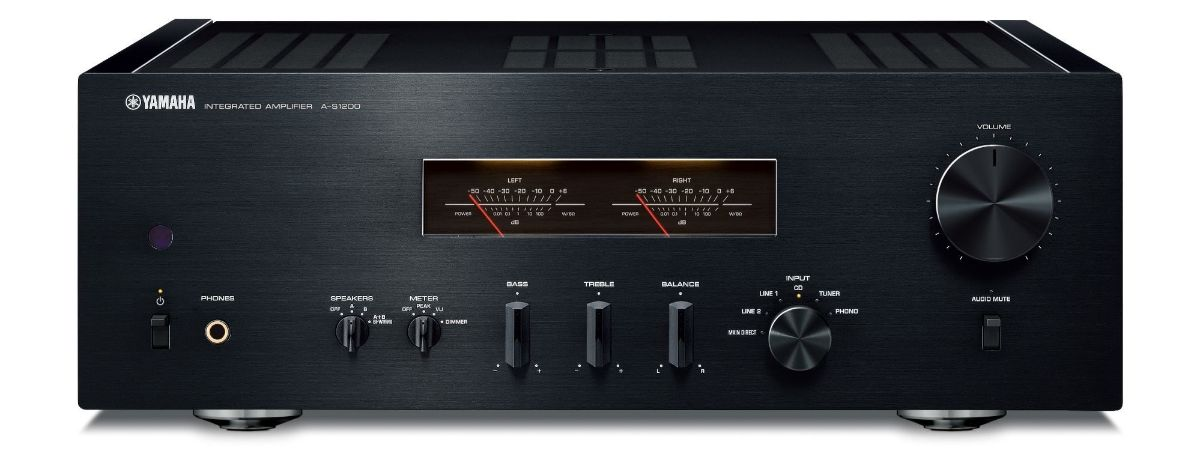 Yamaha A-S1200 integrated amplifier.