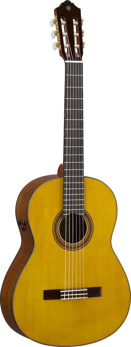 Yamaha CG-TA TransAcoustic guitar.