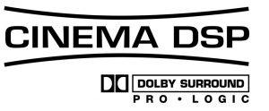 Dolby Cinema DSP logo.