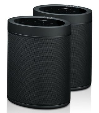 Yamaha MusicCast 20 wireless speakers.