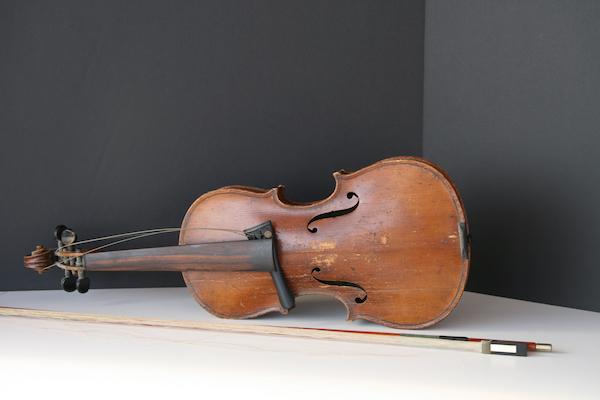 Antique fiddle.