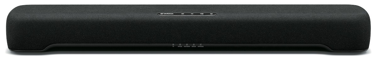 The Yamaha SR-C20A compact sound bar.