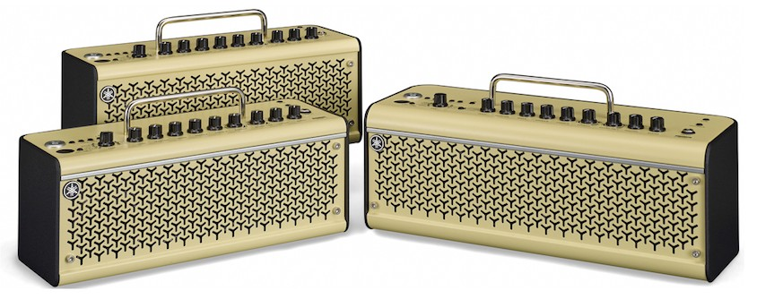 Yamaha THR-II Series desktop amps.