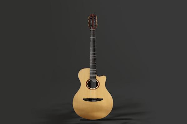 Yamaha NTX5 acoustic nylon string guitar.