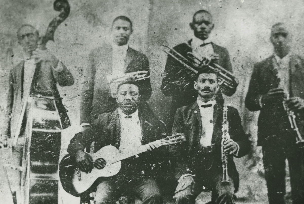 King Bolden (back row, second from left).