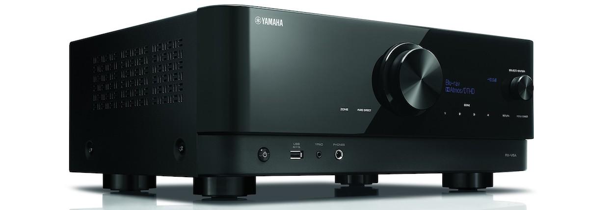 The Yamaha RX-V6A AV receiver.