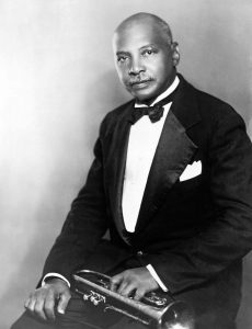 Black and white portrait of W. C. Handy.