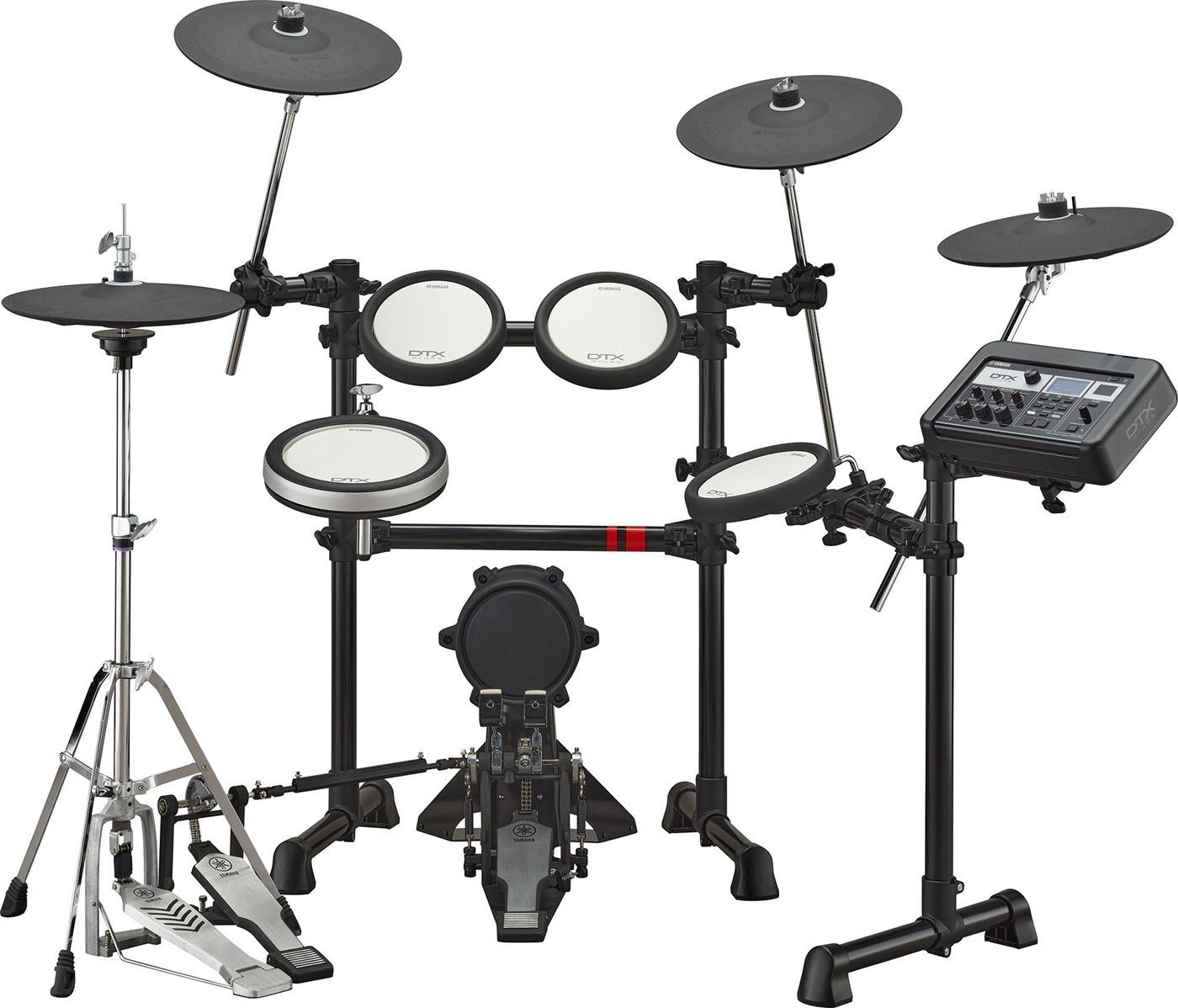 Full electronic drum kit.