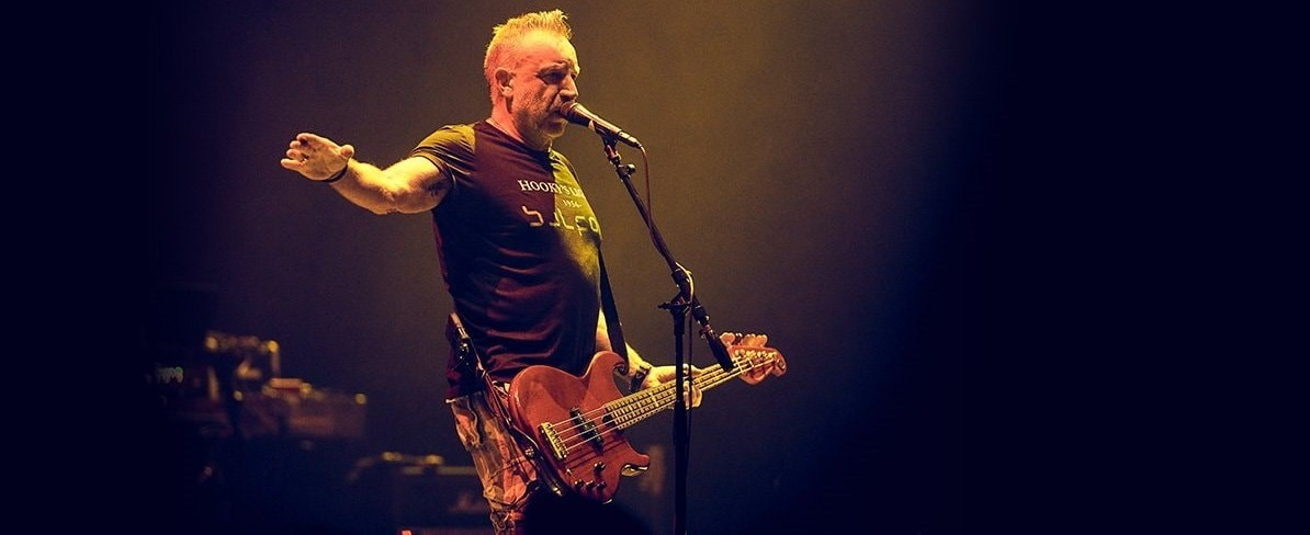 Peter Hook with BBP bass.