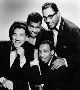 Smokey Robinson (left) and the Miracles.