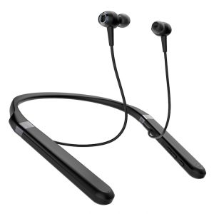 Earbuds with shoulder supporter.