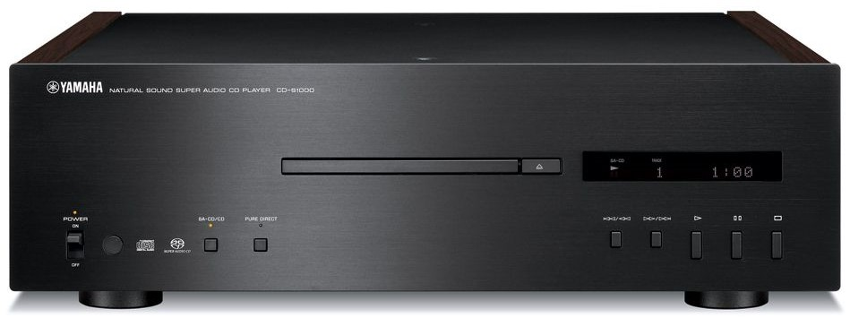 Front face of the CD player unit.