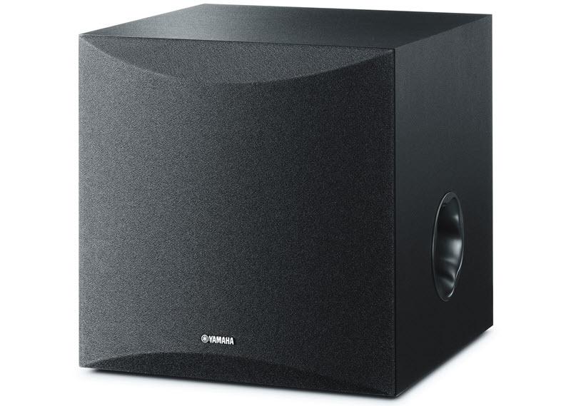 Square speaker unit.