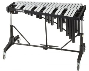 A xylophone.