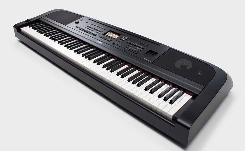 Electronic piano keyboard.