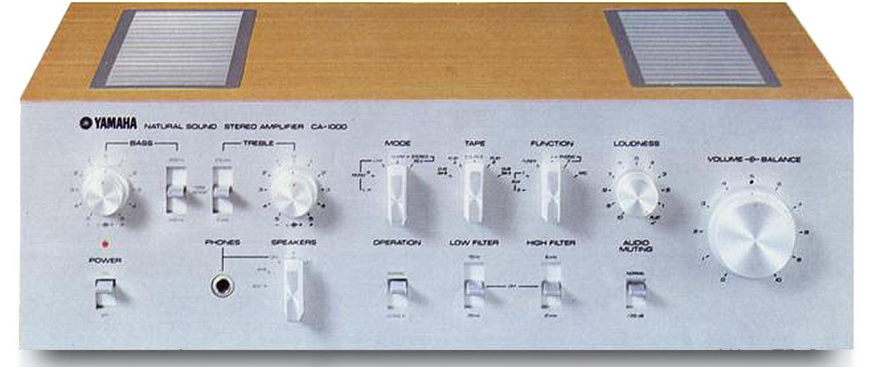 1970's era stereo component.