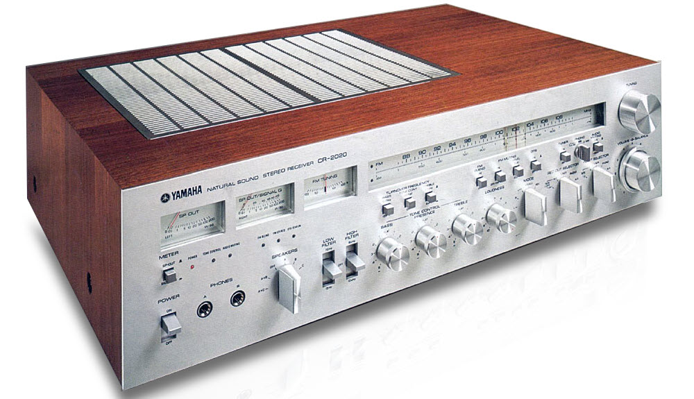 Large 1970's era stereo receiver.